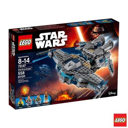 Lego Star Wars Predador das Estrelas 558 Peças 75147