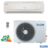 Ar Condicionado Split Elgin Hi-Wall Eco Plus com 12.000 BTUs, Frio, Turbo Mode, Branco