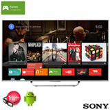 "Smart TV 4K Sony 3D LED 55"" com Android TV, X-Reality Pro 4K e Wi-Fi - XBR-55X855C"