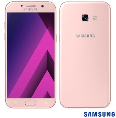 Samsung Galaxy A5 2017 Rosa, Com Tela de 5,2, 4g, 32 Gb e Câmera de 16 Mp - Sm-a520f - Sga520frsa Bivolt