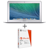 "MacBook Air, 4GB, 256GB, Tela de 13,3"" - MJVG2BZ/A + Microsoft Office 365 Personal"