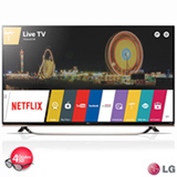 "Smart TV 4K LG LED 49"" com WebOs 2.0, Controle Smart e Wi-Fi - 49UF8500"