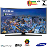 "Smart TV 4K Samsung Curva LED 48"" com Wi-Fi - UN48JU6700GXZD"
