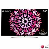 "Smart TV 4K LG OLED 55"" Ultra HD com Controle Smart Magic, WebOS 3.5, Dolby Atmos e Wi-Fi - OLED55B7P"