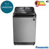 Lavadora de Roupas Panasonic 12kg Titânio com 08 Programas de Lavagem - NA-F120B1TA