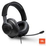 Fone de Ouvido JBL Quantum100 Headphone Preto - JBLQUANTUM100BLK