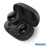 Fone de Ouvido Philips sem Fio TWS Intra-auricular Preto - TAUT102BK/00