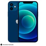 iPhone 12 Azul, com Tela de 6,1', 5G, 64 GB e Câmera Dupla de 12MP Ultra-angular + 12MP Grande-angular - MGJ83BZ/A