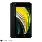 iPhone SE Preto, com Tela de 4,7', 4G, 128 GB e Câmera de 12 MP - MXD02BZ/A