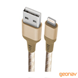 Cabo Lightning MFi Geonav para iPhone, iPad e iPod com 1,5 Metros - LIGH09G