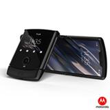 """Moto Razr Preto Motorola, com Tela de 6,2"""", 4G, 128 GB e Câmera de 16 + 5 MP -  XT2000-2"""