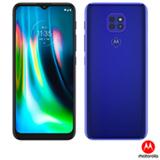 Smartphone Moto G9 Play Azul Safira, com Tela de 6,5', 4G, 64GB e Câmera de 48MP + 2MP + 2MP - XT2083-1