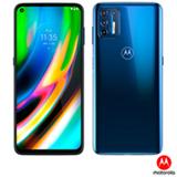 Smartphone Moto G9 Plus Azul Índigo, com Tela de 6,8', 4G, 128GB e Câmera Quádrupla de 64MP + 8MP + 2MP + 2MP - XT2087-1