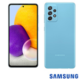 Samsung Galaxy A72 Azul, com Tela de 6,7', 4G, 128GB e Câmera Quádrupla 64MP + 12MP + 8MP +5MP - SM-A725MZBDZTO