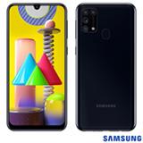 Samsung Galaxy M31 Preto, com Tela de 6,4', 4G, 128GB e Câmera Quádrupla de 64MP + 8MP + 5MP + 5MP - SM-M315FZKKZTO