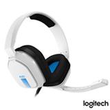 Headset Gamer Astro A10 Branco e Azul para PS4