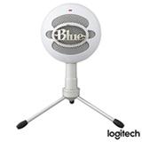 Microfone Blue Microphones Condensador USB Blue Snowball Ice Branco - 988-000070