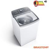 Lavadora de Roupas Brastemp 12Kg Branca com 12 Programas de Lavagem e Filtro Elimina Fiapos - BWR12AB