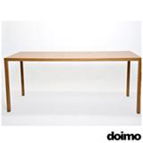 Mesa de Jantar Retangular Easy 180 Castanho Claro - Doimo