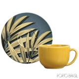 Conjunto de Xícaras Coup Sumatra para Chá em Cerâmica 260 ml com 06 Peças - Porto Brasil