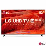 Smart TV LG UHD 4K 82' com Smart Magic e LG ThinQ AI e Wi-Fi - 82UM7570PSB