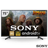 Android TV 4K UHD 75' Sony XBR-75X805G - muito mais cores, recomendada pela Netflix e inteligência artificial
