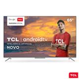 Smart TV TCL LED Ultra HD 4K 65' Android TV com Google Assistant, Borda Ultrafina e Wi-Fi - 65P715