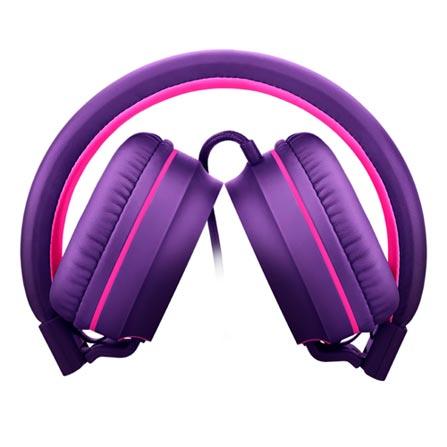 Fone de Ouvido Headphone Fun Roxo Pulse Sound Ph161