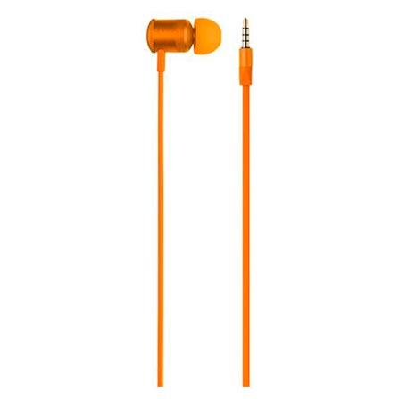 Fone de Ouvido Intra-auricular Hands Free Wired Laranja Pulse Sound Ph190