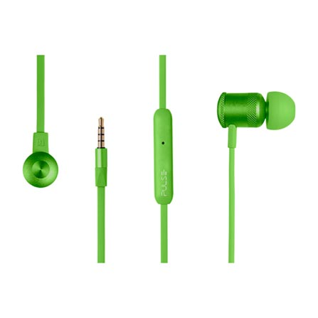 Fone de Ouvido Intra-auricular Hands Free Wired Verde Pulse Sound Ph189