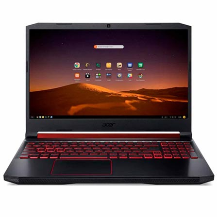 "Notebookgamer - Acer An517-51-55nt I5-9300h 2.40ghz 8gb 1tb Ssd Geforce Gtx 1650 Endless os Aspire Nitro 5 17,3"" Polegadas"