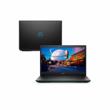 "Notebookgamer - Dell 3500-m10pps I5-10300h 2.50ghz 8gb 256gb Ssd Geforce Gtx 1650 Windows 10 Home 15,6"" Polegadas"