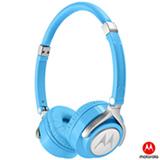 Fone de Ouvido Motorola Pulse 2 com Microfone Headphone Azul