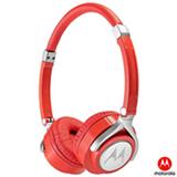 Fone de Ouvido Motorola Pulse 2 com Microfone Headphone Vermelho