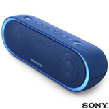 Caixa de Som Bluetooth Sony com Wireless Party Chain Azul - SRS-XB20