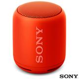 Caixa de Som Bluetooth Sony Vermelha - SRS-XB10
