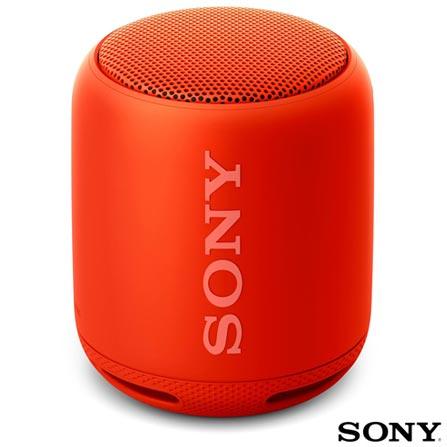 Caixa de Som Sony Vermelho Srs Xb10r