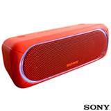 Caixa de Som Bluetooth Sony Vermelha - SRS-XB30