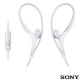 Fone de Ouvido Sony Intra-Auricular com Microfone Branco - MDR-AS410AP
