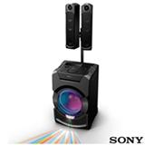 Mini System Flex Sony com Bluetooth e NFC Preto - MHC-GT5D