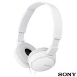 Fone de Ouvido Sony Headphone Dobrável Branco - MDR-ZX110/WCA