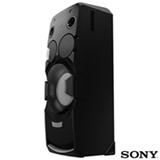 Mini System Torre Sony com Bluetooth e NFC Preto - MHC-V7D