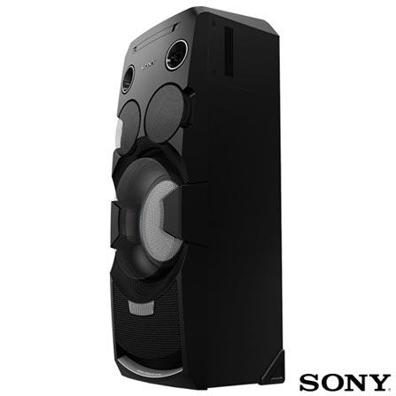 Mini System Torre Sony com Bluetooth e NFC Preto - MHC-V7D, Bivolt, Bivolt, Preto, 12 meses, Sony