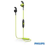 Fone de Ouvido Esportivo Sem Fio Philips ActionFit RunFree Intra-auricular Verde e Preto - SHQ6500CL/00