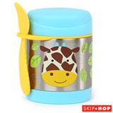 Pote Térmico Zoo Girafa Skip Hop Azul e Amarelo - A-20-015