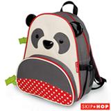 Mochila Zoo Panda Skip Hop Cinza e Vermelha - B-16-018