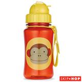 Garrafinha Zoo Macaco Skip Hop Amarelo com Canudo e Tampa Flip-Top - A-15-004