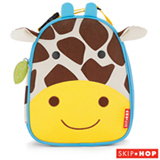 Lancheira Zoo Girafa Skip Hop Amarela e Marrom - B-17-015