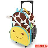 Mala de Rodinha Zoo Girafa Skip Hop Amarela e Marrom - B-24-015