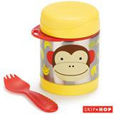 Pote Térmico Zoo Macaco Skip Hop Amarelo e Vermelho - A-20-004